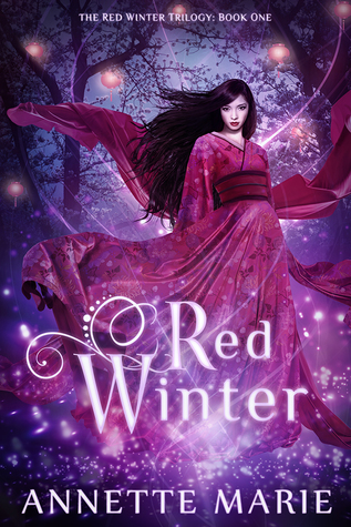 "Book Cover for ""Red Winter"" by Annette Marie"