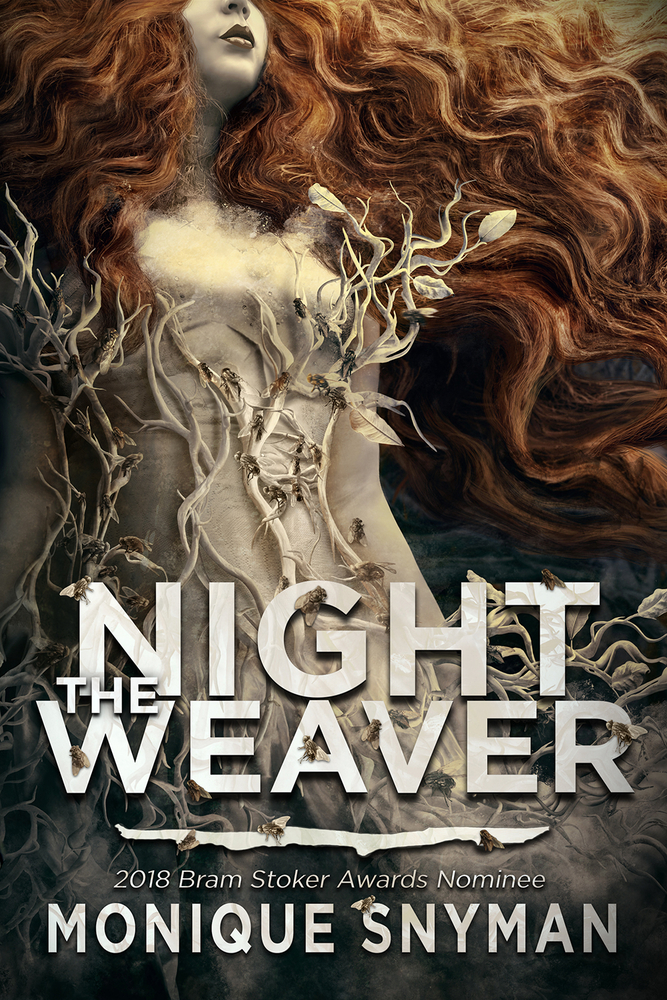 "Book Cover for ""The Night Weaver"" by Monique Snyman"