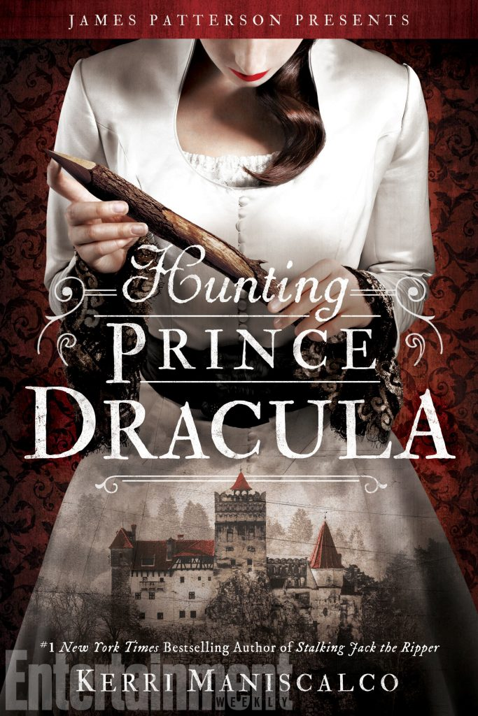 "Book Cover for ""Hunting Prince Dracula"" by Kerri Maniscalco"