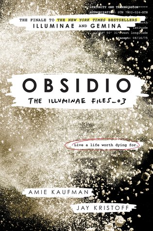 "Book Cover for ""Obsidio"" by Amie Kaufman and Jay Kristoff"