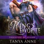 "Book Cover for ""The King's Favorite"" by Tanya Anne Crosby"