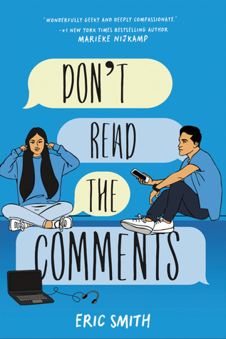 "Book Cover for ""Don't Read the Comments"" by Eric Smith"