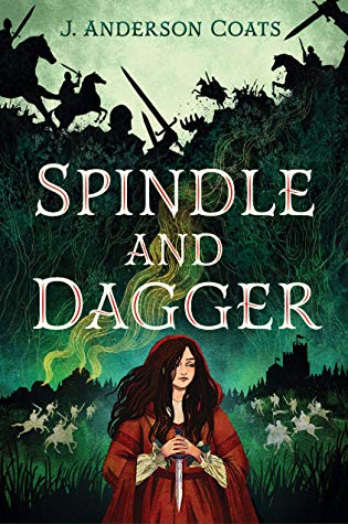 "Book Cover for ""Spindle and Dagger"" by J. Anderson Coats"