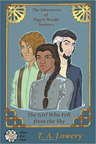 "Book Cover for ""The Girl Who Fell From the Sky"" by T.A. Lowery"