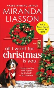 """Book Cover for """"All I Want for Christmas is You"""" by Miranda Liasson"""