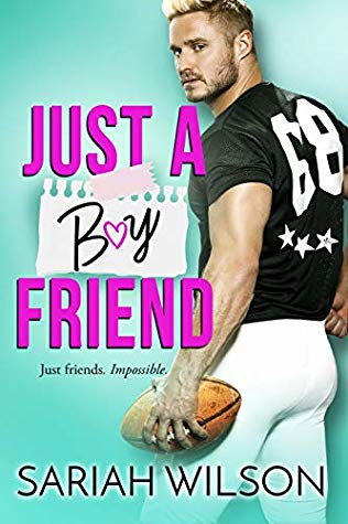 "Book Cover for ""Just a Boyfriend"" by Sariah Wilson"