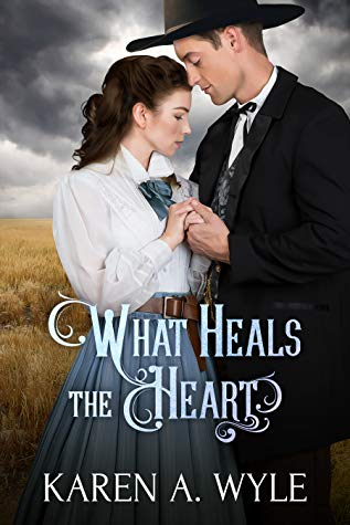 "Book Cover for ""When Heals the Heart"" by Karen A. Wyle"