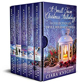 "Book Cover for ""A Small Town Christmas Anthology"" by Ciara Knight"