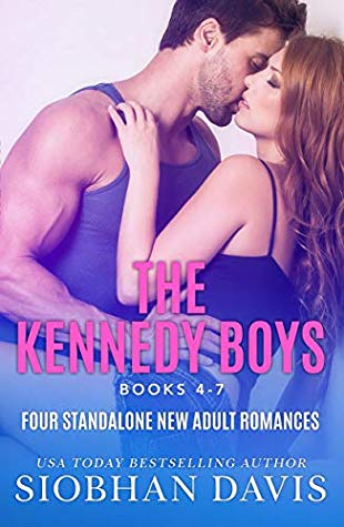 "Book Cover for ""The Kennedy Boys Collection Books 4-7"" by Siobhan Davis"