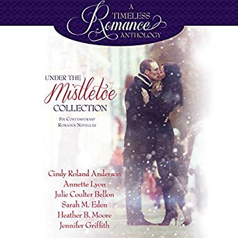 "Audiobook Cover for ""Under the Mistletoe"" collection"