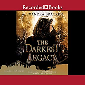 "Audiobook Cover for ""The Darkest Legacy"" by Alexandra Bracken"
