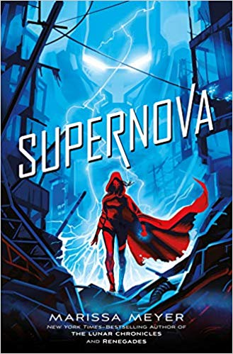 "Book Cover for ""Supernova"" by Marissa Meyer"