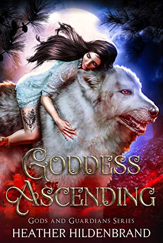 """Book Cover for """"Goddess Ascending"""" by Heather Hildenbrand"""
