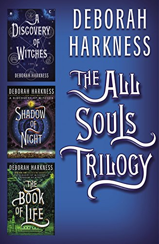 "Book Cover for ""The All Souls Trilogy"" by Deborah Harkness"
