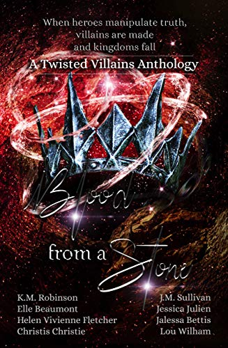 "Book Cover for ""Blood from a Stone: Twisted Villains Anthology"""