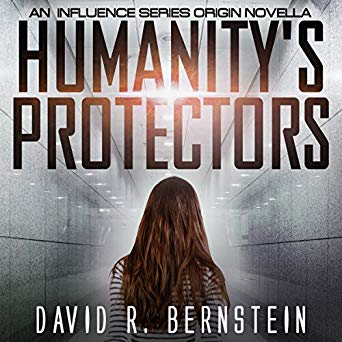 "Audiobook Cover for ""Humanity's Protectors"" by David R. Bernstein"