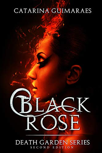 "Book Cover for ""Black Rose"" by Catarina Guimaraes"