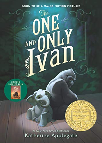 "Book Cover for ""The One and Only Ivan"" by Katherine Applegate"