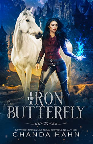 "Book Cover for ""The Iron Butterfly"" by Chanda Hahn"