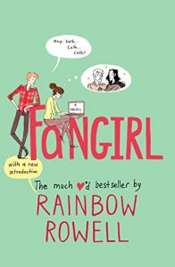 "Book Cover for ""Fangirl"" by Rainbow Rowell"