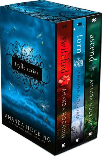 """Book Cover for """"The Trylle Trilogy"""" by Amanda Hocking"""