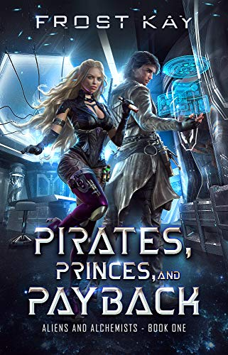 """Book Cover for """"Pirates, Princes and Payback"""" by Frost Kay"""