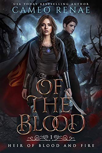 """Book Cover for """"Of the Blood"""" by Cameo Renae"""