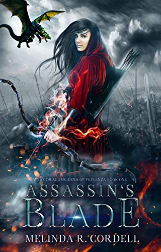 "Book Cover for ""Assassin's Blade"" by Melinda R. Cordell"