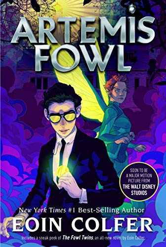 "Book Cover for ""Artemis Fowl"" by Eoin Colfer"