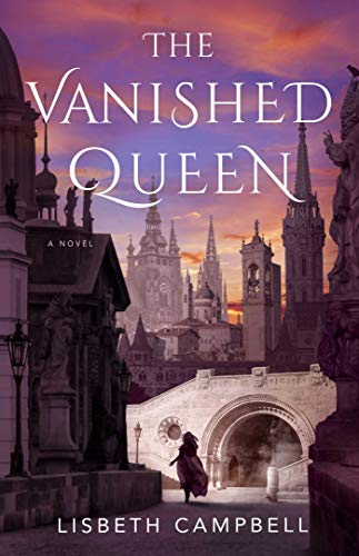 "Book Cover for ""The Vanished Queen"" by Lisbeth Campbell"