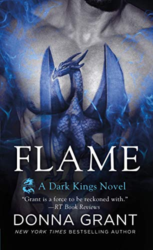 """Book Cover for """"Flame"""" by Donna Grant"""