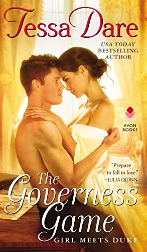 "Book Cover for ""The Governess Game"" by Tessa Dare"