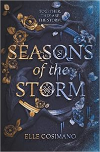 "Book Cover for ""Seasons of the Storm"" by Elle Cosimano"