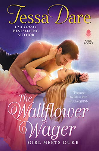 "Book Cover for ""The Wallflower Wager"" by Tessa Dare"