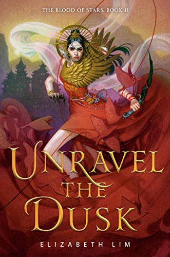 "Book Cover for ""Unravel the Dusk"" by Elizabeth Lim"