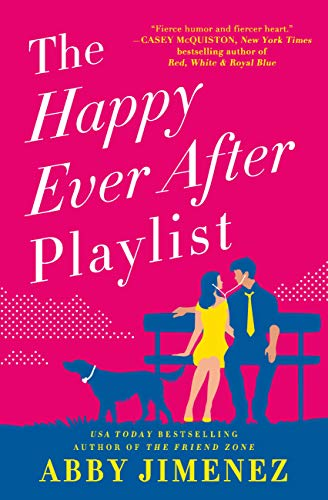 "Book Cover for ""The Happy Ever After Playlist"" by Abby Jimenez"
