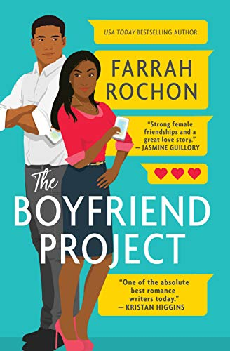 "Book Cover for ""The Boyfriend Project"" by Farrah Rochon"