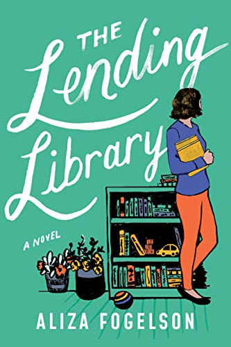 """Book Cover for """"The Lending Library"""" by Aliza Fogelson"""