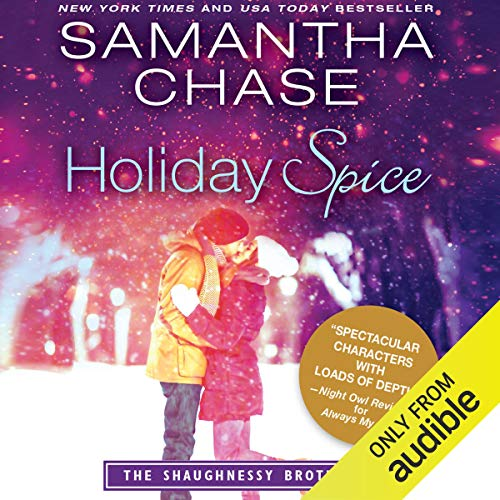 "Audiobook Cover for ""Holiday Spice"" by Samantha Chase"
