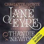 "Audiobook Cover for ""Jane Eyre"" by Charlotte Bronte"