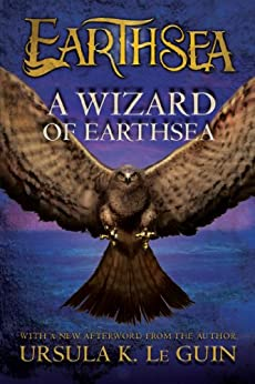 "Book Cover for ""A Wizard of Earthsea"" by Ursula K. LeGuin"