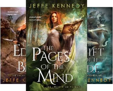 """Series Cover for """"The Uncharted Realms"""" by Jeffe Kennedy"""