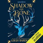 "Audiobook Cover for ""Shadow and Bone"" by Leigh Bardugo"