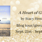 Blog Tour Banner for A Heart of Gold