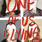 "Book Cover for ""One of Us is Lying"" by Karen M. McManus"